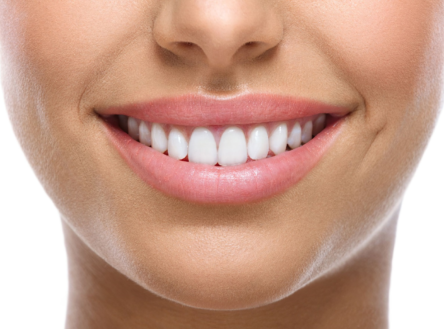 21790157 - closeup of smile with white heatlhy teeth